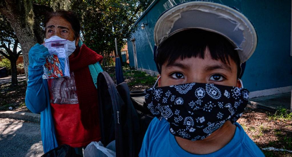 """""""Los migrantes somos todos"""", asegura Carlos Mora - Migrantes detenidos en Estados Unidos"""