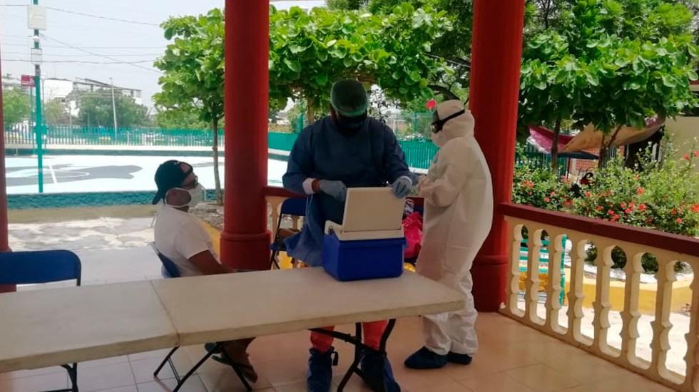 OPS alerta que México solo gasta 2.5 por ciento del PIB en Salud; lo ideal, asegura, sería 6 por ciento - módulos prueba guerrero acapulco coronavirus COVID-19