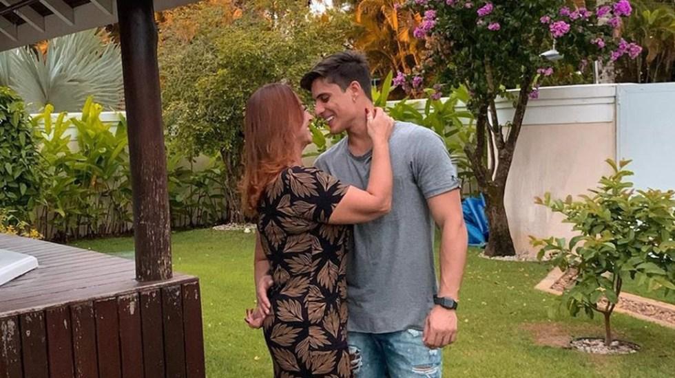 Madre de Neymar y su joven novio habrían protagonizado 'accidente doméstico' - Nadine Gonçalves y Tiago Ramos. Foto de @nadine.goncalves