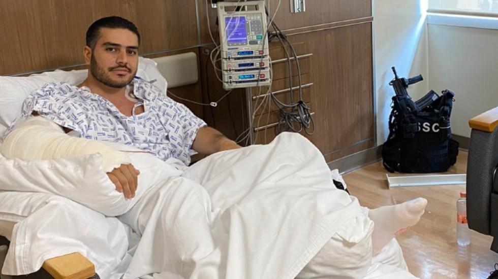 Omar García Harfuch se encuentra estable tras nueva cirugía - Foto de @SNietoCastillo