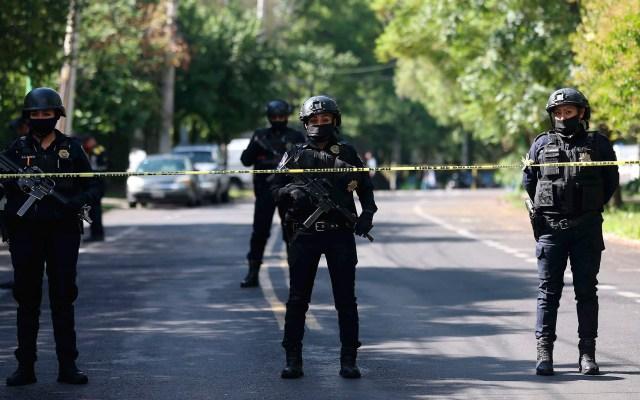 """Segob manifiesta """"total apoyo"""" a jefa de Gobierno tras atentado a García Harfuch - operativo atentado García Harfuch"""