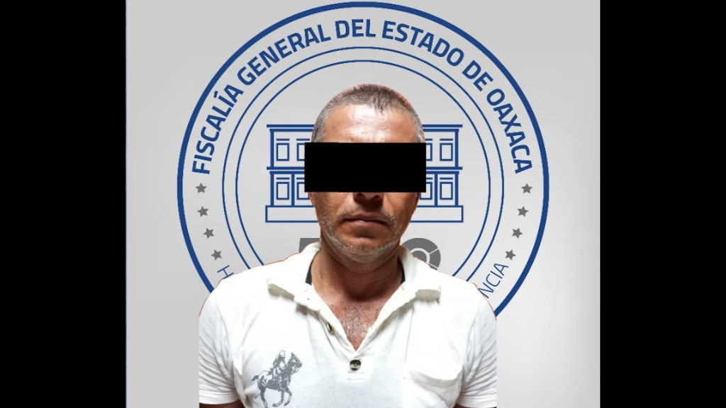 Vinculan a proceso, en Oaxaca, a expolicía que presuntamente mató a Alexander - El expolicía, identificado como 'S. R. R'. foto de Fiscalía General de Oaxaca.El expolicía, identificado como 'S. R. R'. foto de Fiscalía General de Oaxaca.