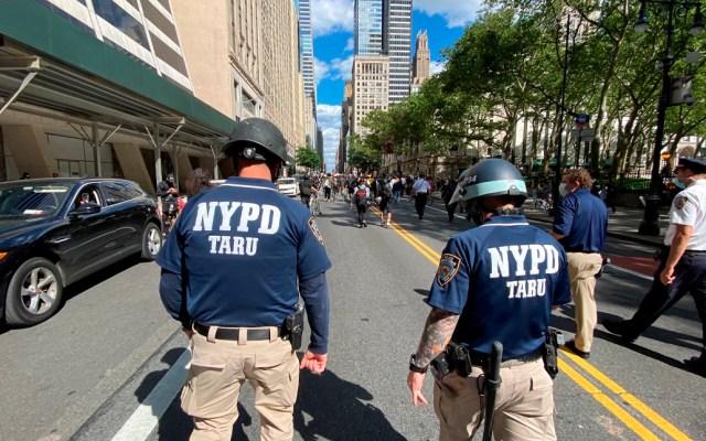 Nueva York retendrá fondos de departamentos de policía que no actúen contra racismo y abuso de fuerza - Policías de Nueva York