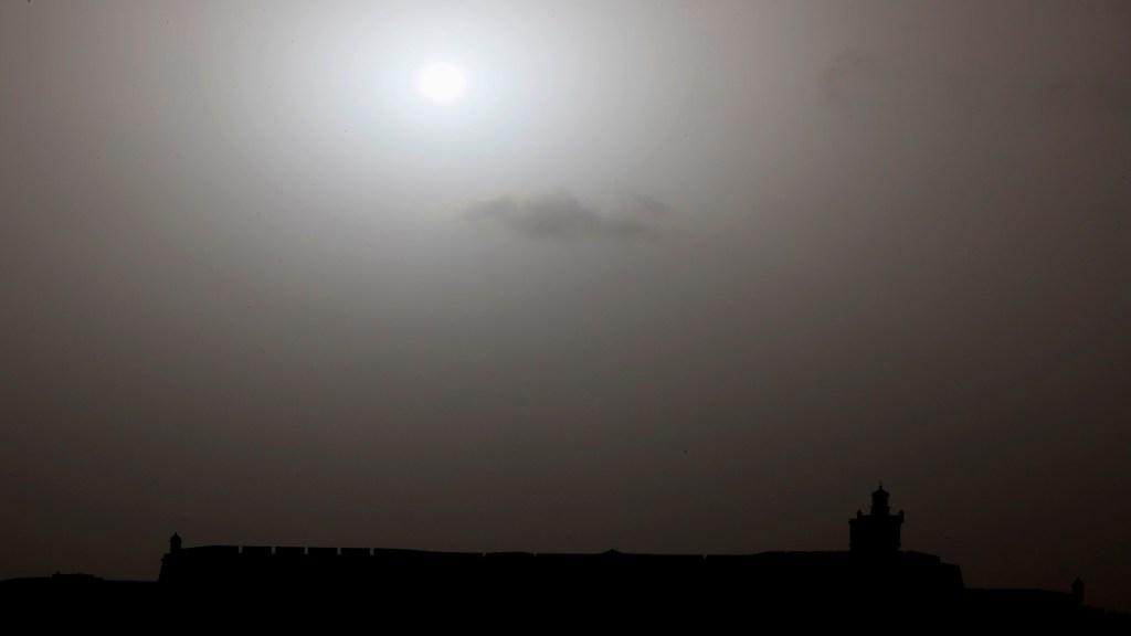 Cambio climático podría haber provocado la mayor tormenta de polvo del Sahara - Foto de EFE