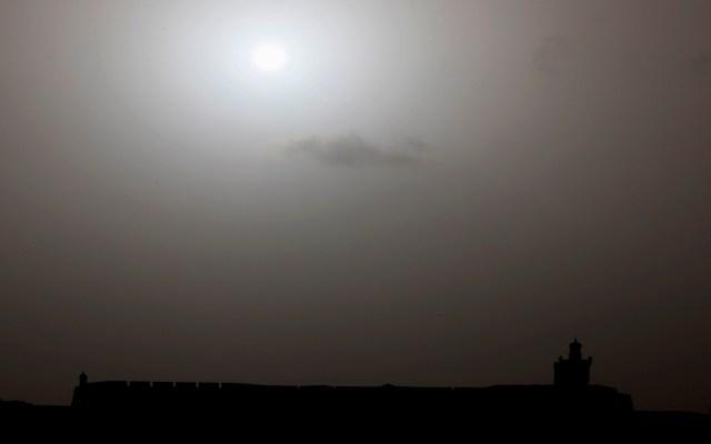 Este será el recorrido del polvo del Sahara para los próximos dos días en México - Foto de EFE