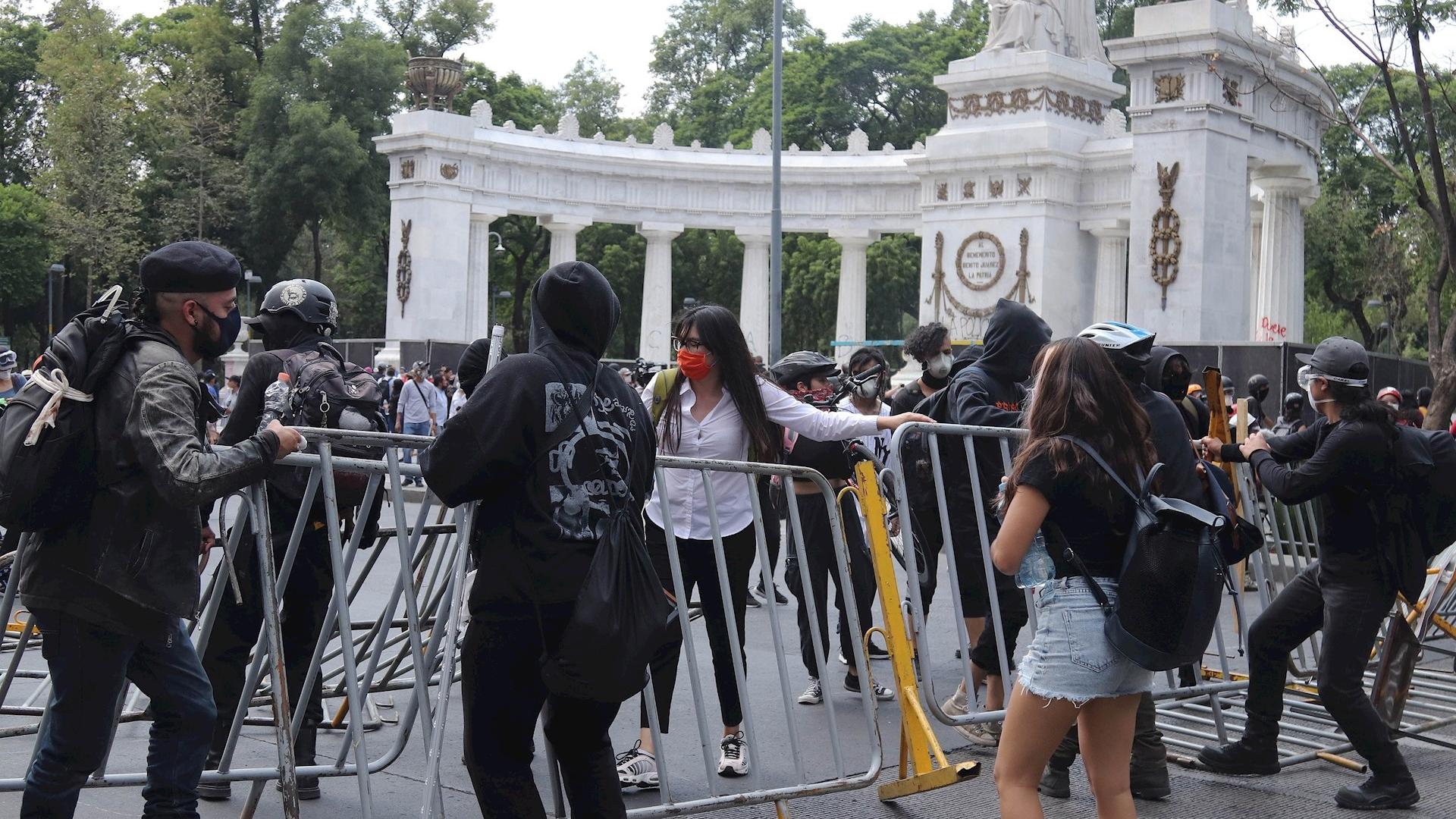 Protestas Ciudad de México violencia policial