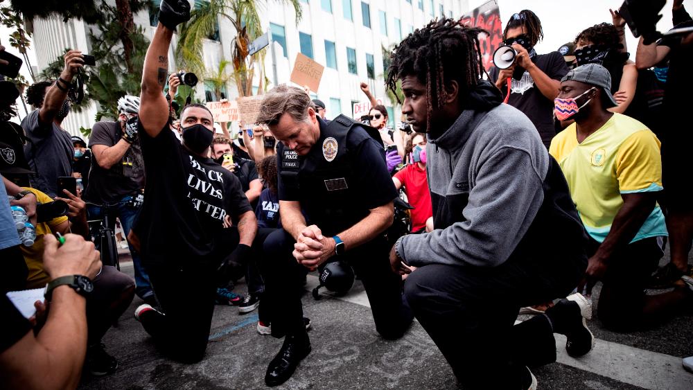 Protestas cobran fuerza en Estados Unidos tras desafío de Trump - Foto de EFE