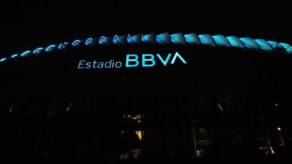 Confirman caso de COVID-19 en Rayados de Monterrey - Estadio BBVA, casa de Rayados de Monterrey. Foto de facebook.com/rayados