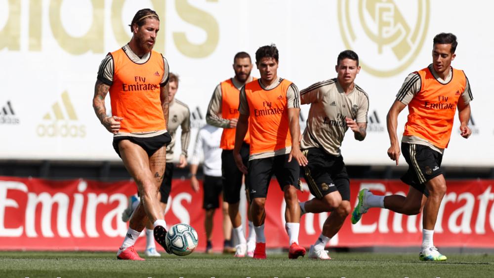 Real Madrid vuelve a entrenar en equipo 81 días después - Foto de Real Madrid