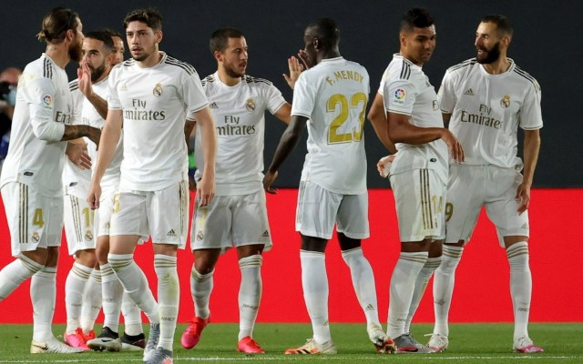 Real Madrid doblega al Valencia y se queda a dos puntos del Barcelona - Real Madrid partido Valencia 180620201