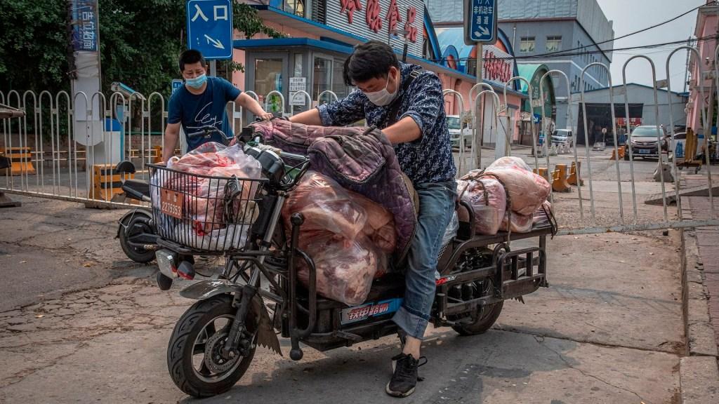 Alerta en China por nuevo brote de COVID-19 en mercado de Beijing - rebrote pekín china coronavirus COVID-19