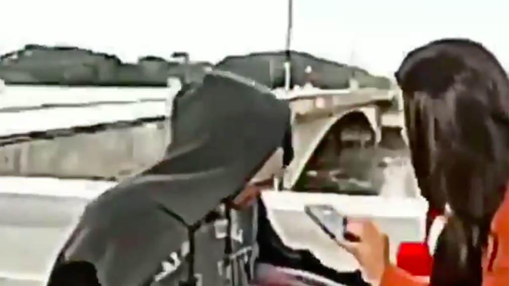 Asaltan a una periodista en una transmisión en vivo