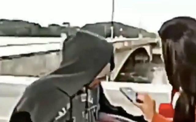 #Video Asaltan a reportera de CNN en Brasil durante transmisión - Reportera Brasil CNN asalto mujer