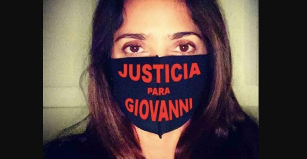 Salma Hayek se suma a petición de justicia por caso Giovanni López - Foto de Instagram