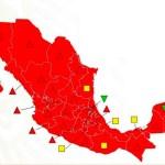Todo el país está en semáforo rojo por pandemia de COVID-19