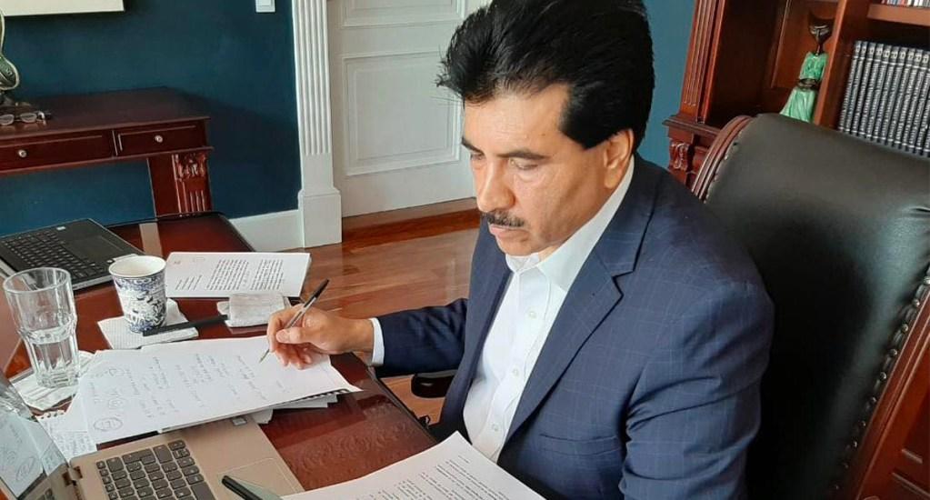Senador de MC se pasa a Morena y le da mayoría calificada en la Comisión Permanente - Senador José Ramón Enríquez HerreraSenador José Ramón Enríquez Herrera