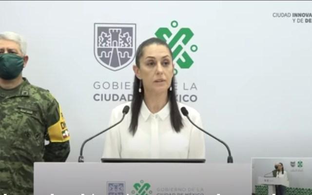 """""""No he recibido ninguna amenaza"""": Claudia Sheinbaum - Foto de captura de pantalla"""