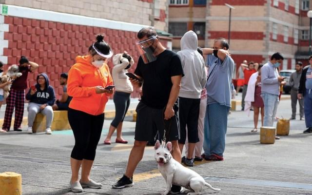 Hospitales COVID-19 no requirieron evacuación ni tuvieron daños: Protección Civil - Foto de EFE
