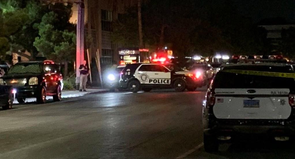 Tiroteos en Las Vegas durante protestas por George Floyd dejan dos heridos, incluido un policía - Tiroteo en Las Vegas