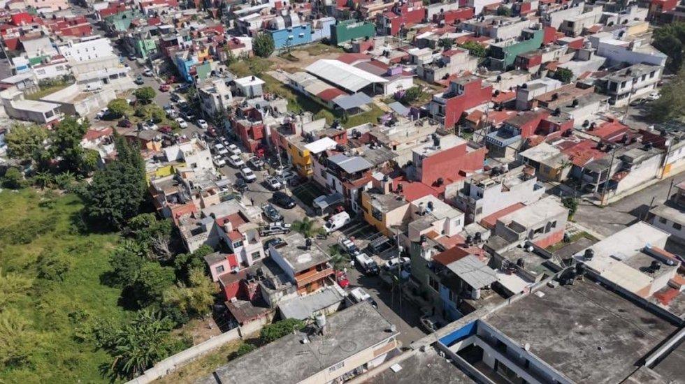 Asesinan a rectora de la Universidad Valladolid en Emiliano Zapata, Veracruz - Universidad Valladolid, en vista aérea. Foto de @SSP_Veracruz