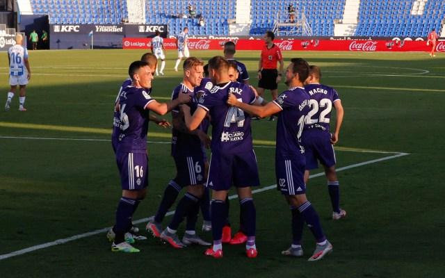 Valladolid vence al Leganés de Aguirre y suma tres puntos vitales en la lucha por la permanencia - Valladolid Leganés