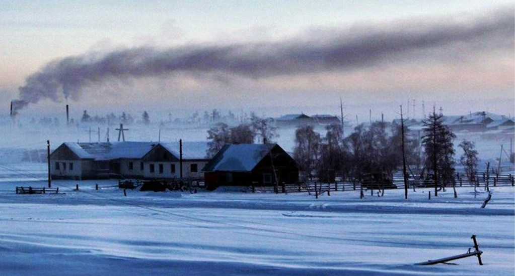 Uno de los lugares más fríos del mundo registra temperaturas de hasta 38 grados - Verjoyansk, Rusia