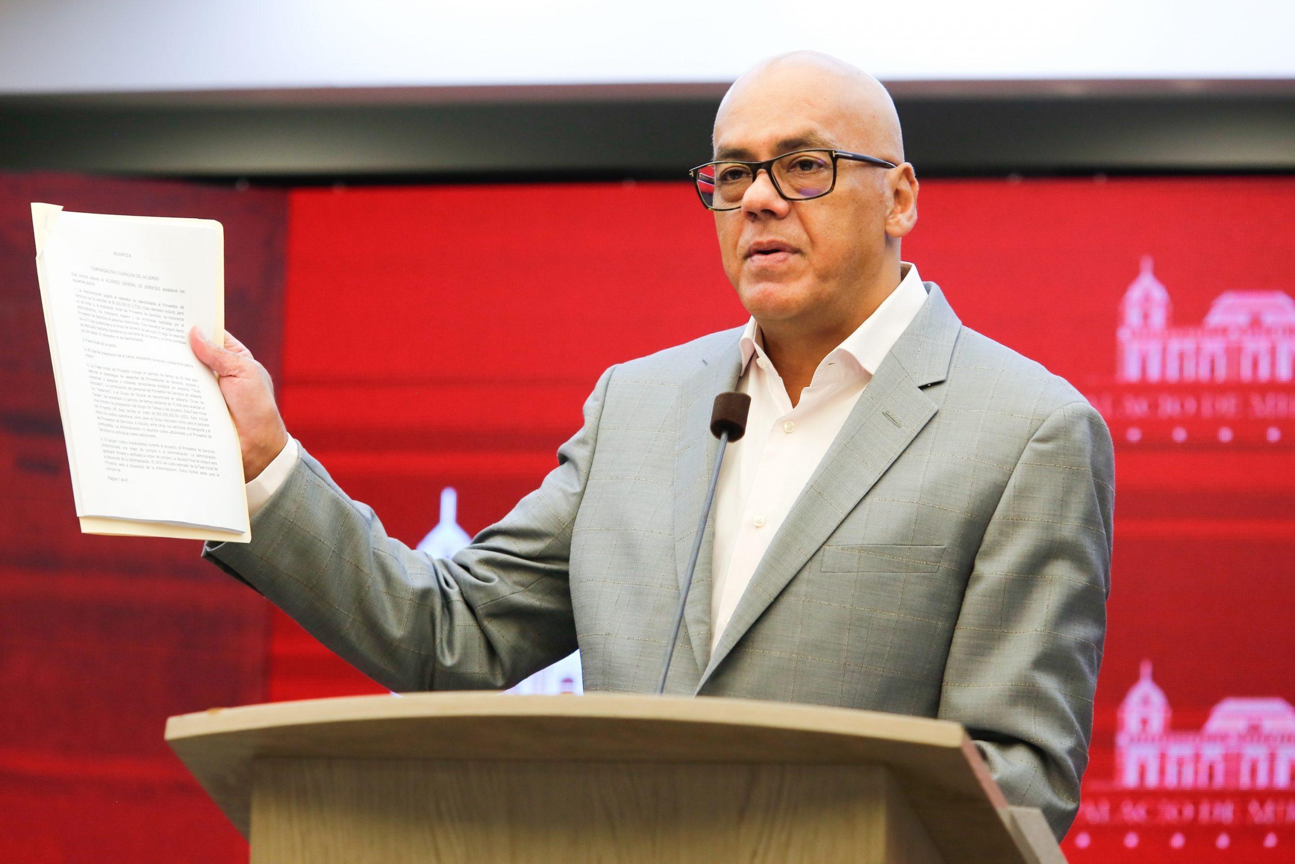 Vicepresidente de Comunicación de Venezuela, Jorge Rodríguez