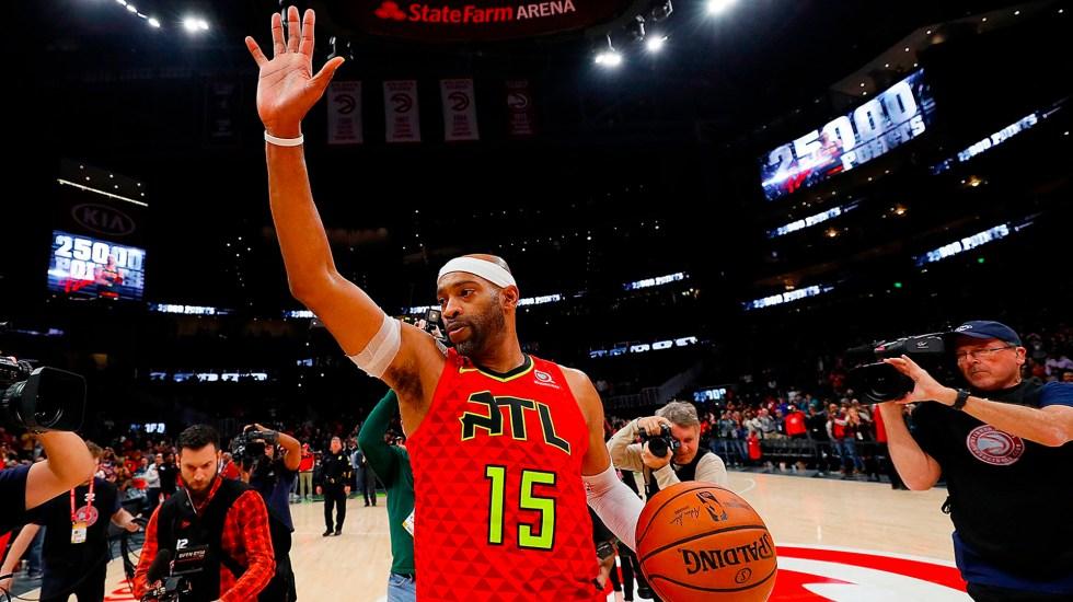 Vince Carter anuncia su retiro de la NBA tras 22 temporadas - Vince Carter