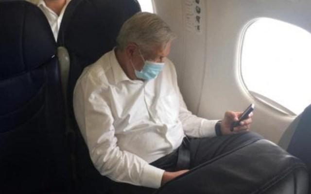 Alcocer y López-Gatell me han dicho que no necesito cubrebocas, afirma López Obrador - Foto de @DiarioDeYucatan