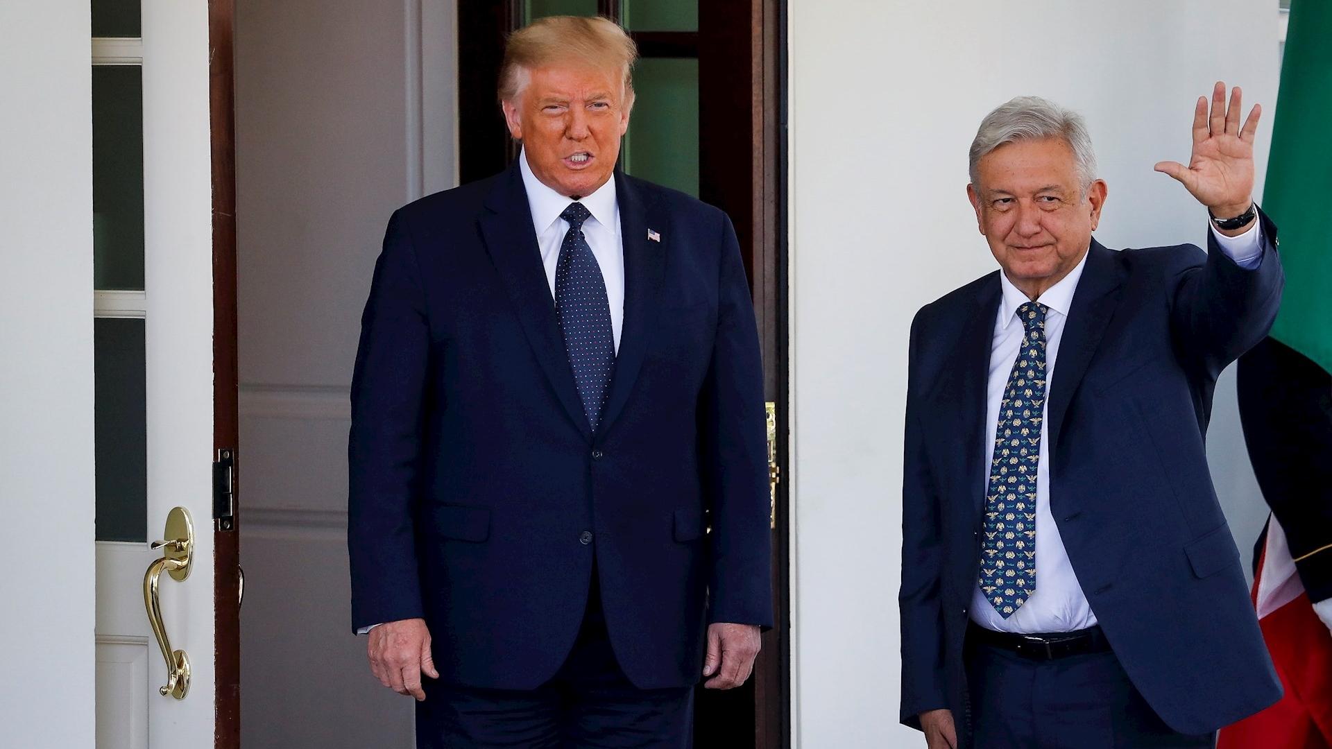 Encuentro Trump-AMLO