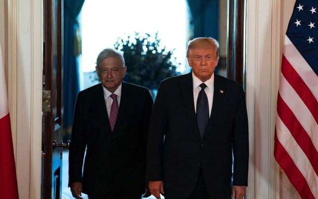 Fallaron los pronósticos; no nos peleamos, somos amigos: López Obrador a Trump - AMLO López Obrador Donald Trump Estados Unidos 6