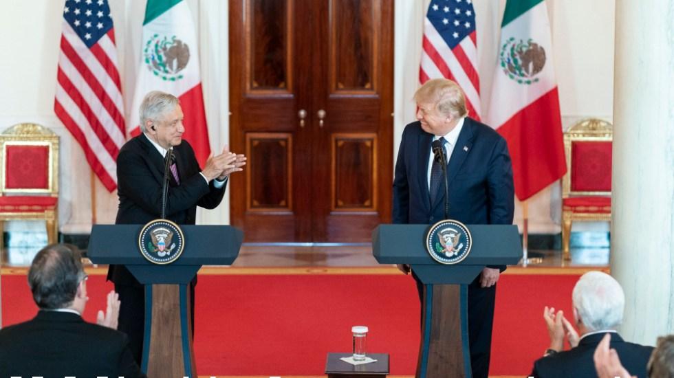 AMLO reserva sus comentarios al aparecer en promocional de Trump - Foto de The White House
