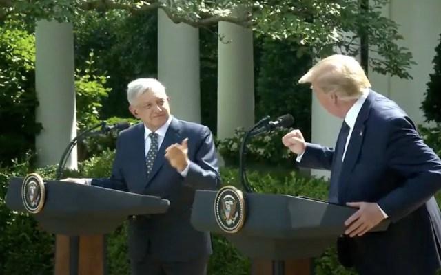 """#Video """"Muchas gracias, señor presidente""""; Donald Trump tras mensaje de AMLO en la Casa Blanca - Captura de pantalla"""