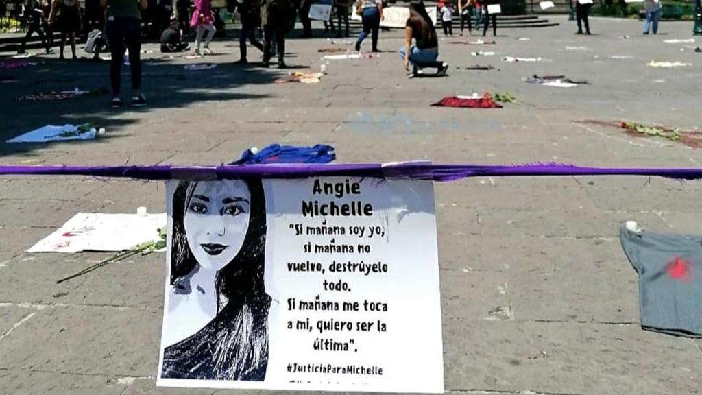 Detienen a seis por feminicidio de Angie Michelle en Puebla - Foto de @YOPSTH
