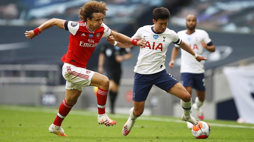 #Video Error garrafal de David Luiz provoca la derrota del Arsenal - Arsenal David Luiz Tottenham Heung Min Son