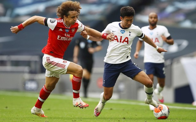 #Video Error garrafal de David Luiz provoca la derrota del Arsenal - Arsenal David Luiz Tottenham Heung Min Son