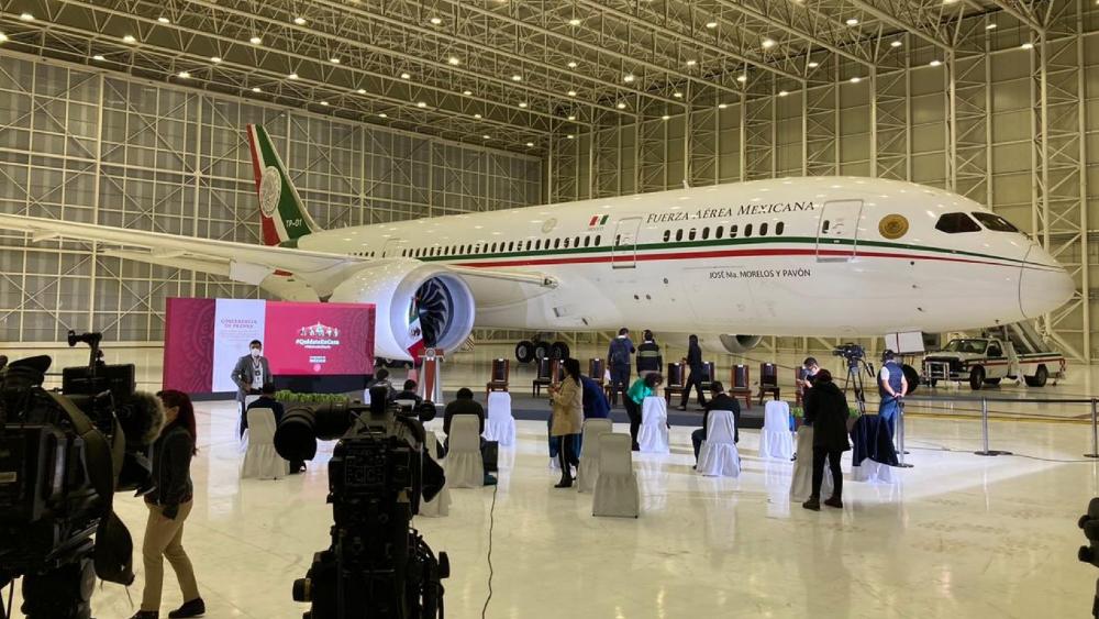 ONU lanza licitación para ayudar a vender el Avión Presidencial - avion presidencial TP01 Boeing 787-8 hangaravion presidencial TP01 Boeing 787-8 hangar