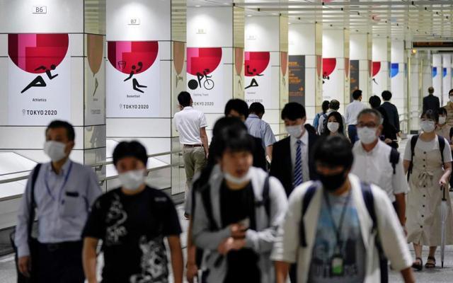 Tokio reporta más de 280 nuevos contagios por tercer día consecutivo - Foto de EFE.