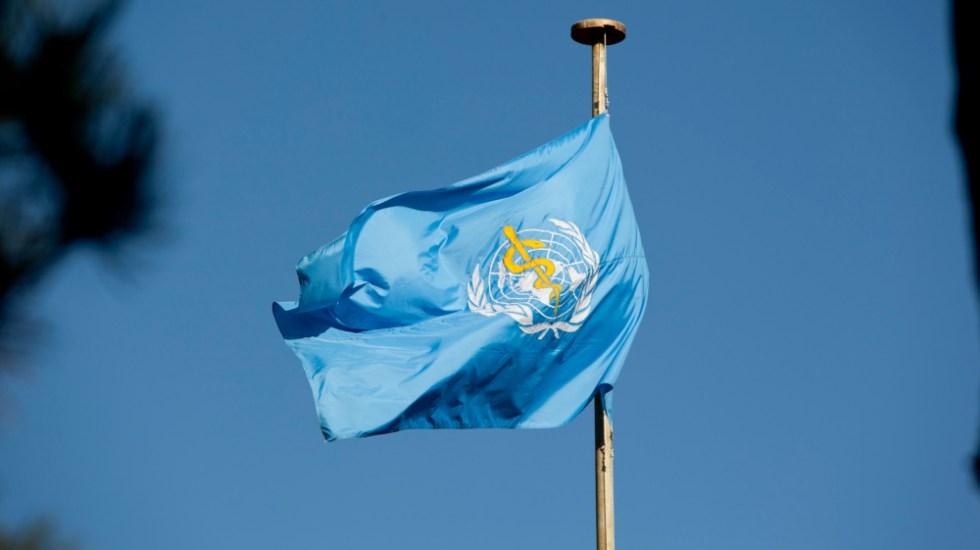 OMS concluye que parte de su personal cometió abusos en RD Congo - Bandera Organización Mundial de la Salud OMS