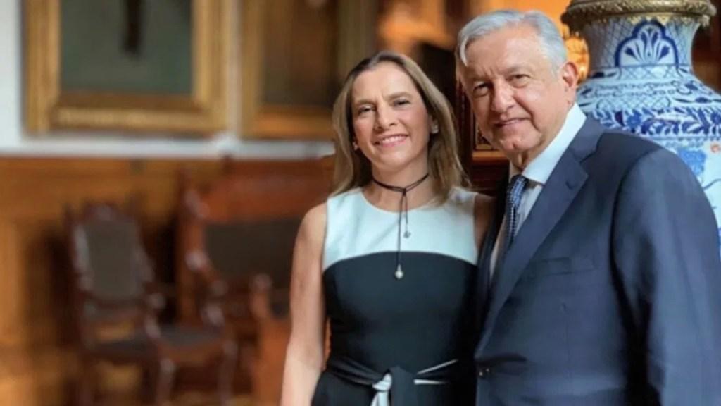 Reconoce Beatriz Gutiérrez deseos de 'infortunio' para el presidente López Obrador por COVID-19 - Foto de Instagram Andrés Manuel López Obrador