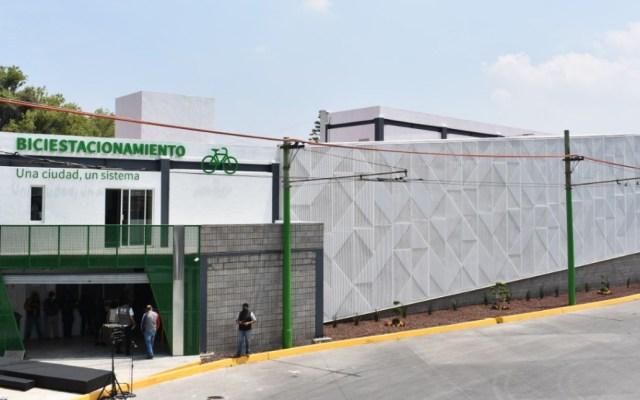 Inauguran Biciciestacionamiento Masivo en El Rosario - Biciestacionamiento El Rosario Ciudad de México