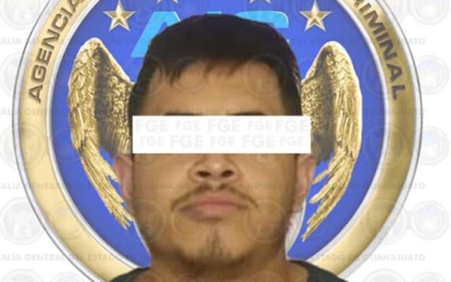Detienen a presunto asesino de cinco policías en Guanajuato - Brandon Alejandro, presunto partícipe en el homicidio de cinco policías de Guanajuato. Foto de @FGEGUANAJUATO