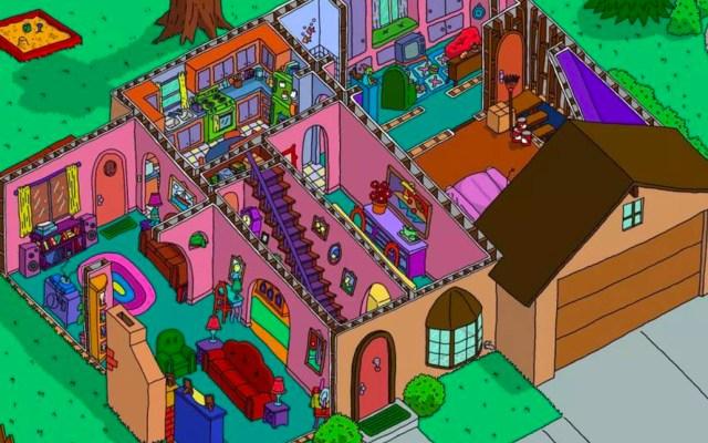 La habitación oculta en la casa de Los Simpson, el nuevo misterio de la familia amarilla - Casa de Los Simpson