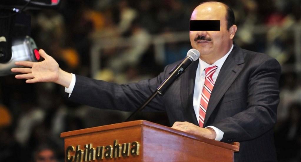 Jueces rechazan pruebas de César Duarte y su esposa para evitar órdenes de aprehensión - César Duarte. Exgobernador de Chihuahua