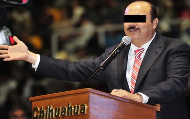 Audiencia para pedir libertad bajo fianza de César Duarte será el 24 de julio - César Duarte. Exgobernador de Chihuahua