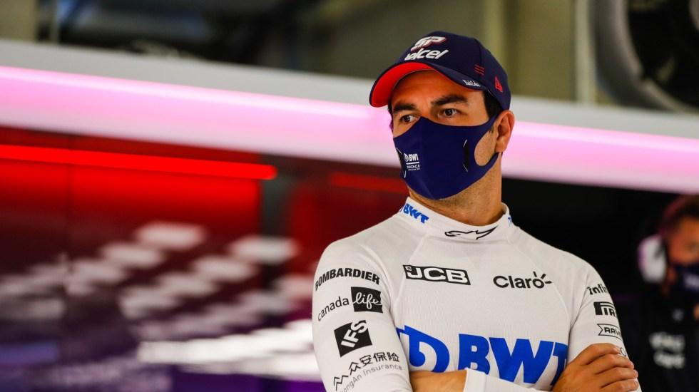 'Checo' Pérez, 'piloto del día' tras terminar sexto en el GP de Estiria - Foto de @SChecoPerez