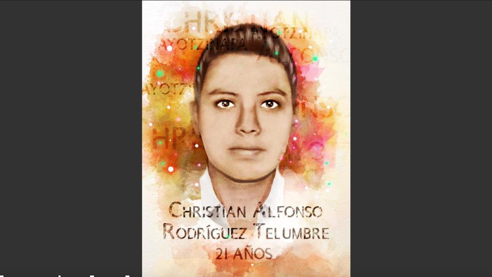 ONU-DH se solidariza con familia de joven de Ayotzinapa tras hallar restos - Foto de @ONUDHmexico