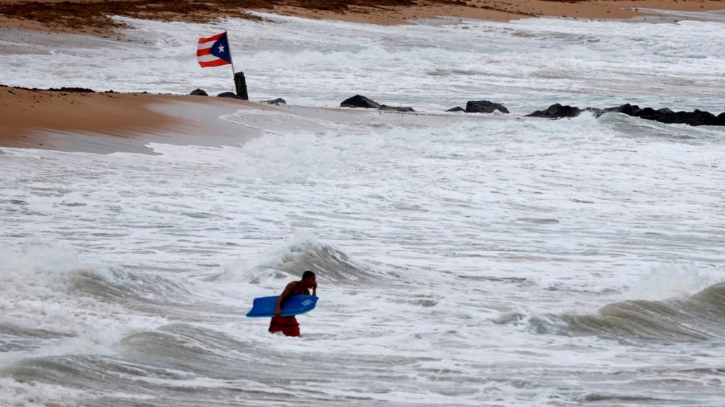 Declaran estado de emergencia en Puerto Rico por paso de ciclón - Ciclón Puerto Rico Alerta