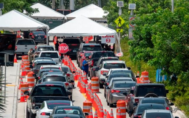 Más de 10 mil casos nuevos de COVID-19 en 24 horas, nuevo récord en Florida - Foto de EFE