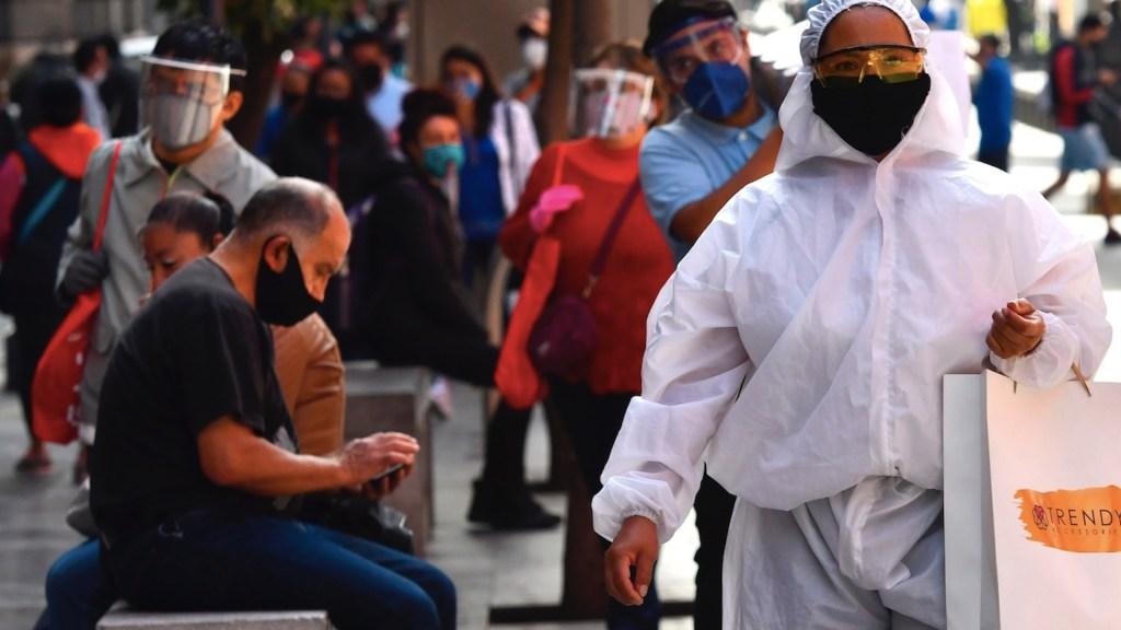 #Video Tercer día de mayor contagios en México; en las últimas horas se registraron 7, 573 casos y 737 defunciones por COVID-19 - Foto de EFE